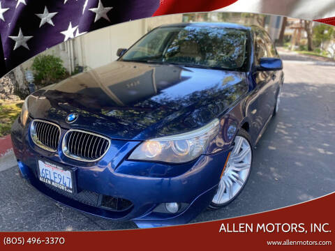 2008 BMW 5 Series for sale at Allen Motors, Inc. in Thousand Oaks CA