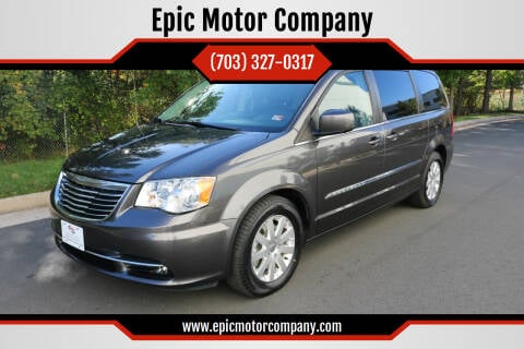 2016 Chrysler Town and Country for sale at Epic Motor Company in Chantilly VA