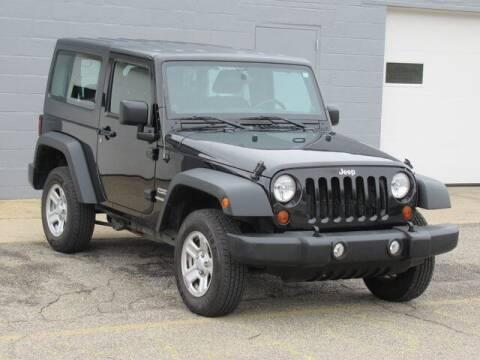 2013 Jeep Wrangler for sale at K&M Wayland Chrysler  Dodge Jeep Ram in Wayland MI