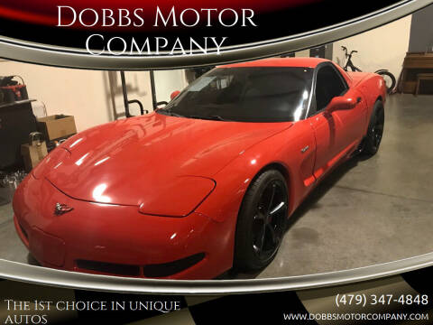 2001 Chevrolet Corvette for sale at Dobbs Motor Company in Springdale AR