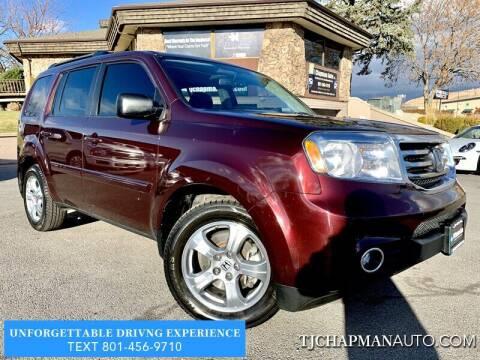 2015 Honda Pilot for sale at TJ Chapman Auto in Salt Lake City UT