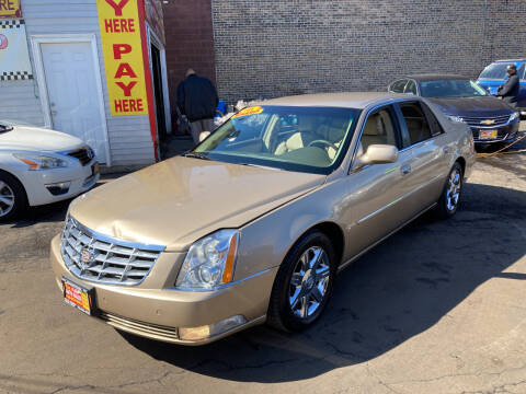 2006 Cadillac DTS for sale at RON'S AUTO SALES INC in Cicero IL