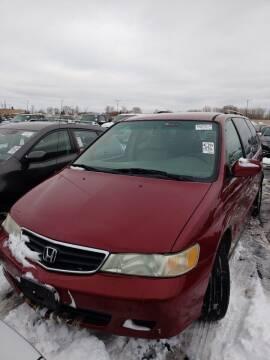 2004 Honda Odyssey for sale at WB Auto Sales LLC in Barnum MN