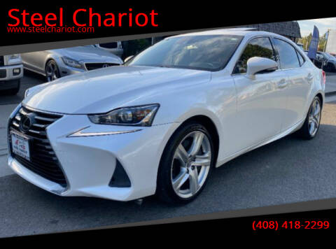 2017 Lexus IS 200t for sale at Steel Chariot in San Jose CA