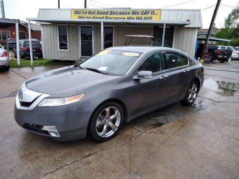 2010 Acura TL for sale at Taylor Trading Co in Beaumont TX