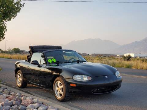 1999 Mazda MX-5 Miata for sale at FRESH TREAD AUTO LLC in Springville UT