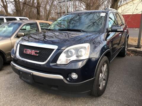 2012 GMC Acadia for sale at Barga Motors in Tewksbury MA