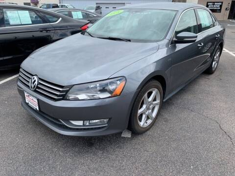 2015 Volkswagen Passat for sale at Used Car Factory Sales & Service Troy in Troy OH