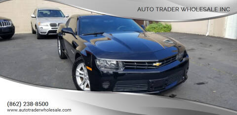 2014 Chevrolet Camaro for sale at Auto Trader Wholesale Inc in Saddle Brook NJ