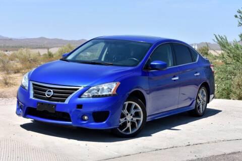 2013 Nissan Sentra for sale at Arizona Choice Automotive LLC in Mesa AZ