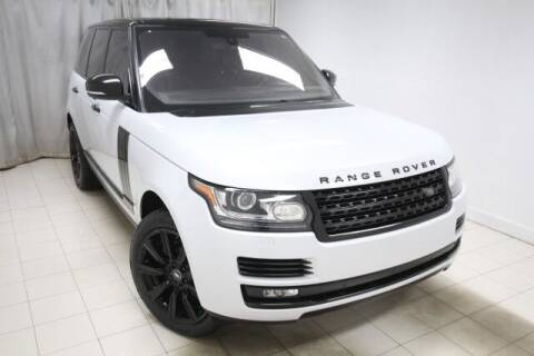 2016 Land Rover Range Rover for sale at EMG AUTO SALES in Avenel NJ