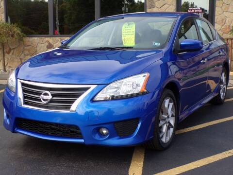 2014 Nissan Sentra for sale at Rogos Auto Sales in Brockway PA