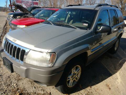 2004 Jeep Grand Cherokee for sale at Auto Brokers of Milford in Milford NH