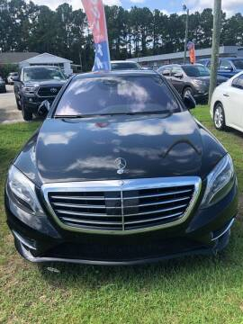 2015 Mercedes-Benz S-Class for sale at Gralin Hampton Auto Sales in Summerville SC