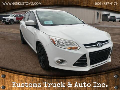 2012 Ford Focus for sale at Kustomz Truck & Auto Inc. in Rapid City SD