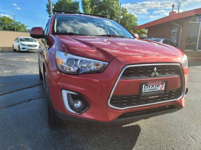 2015 Mitsubishi Outlander Sport for sale at Dixie Automart LLC in Hamilton OH
