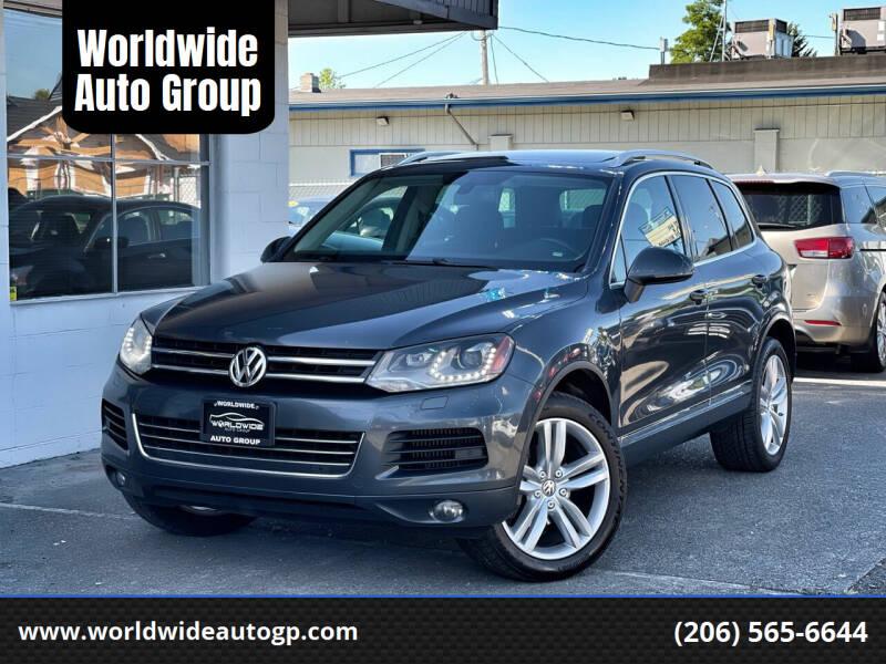 2013 Volkswagen Touareg for sale in Auburn, WA