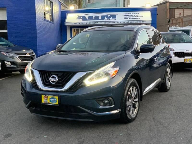 2017 Nissan Murano for sale at AGM AUTO SALES in Malden MA