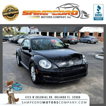 2016 Volkswagen Beetle for sale at SAMPEDRO MOTORS COMPANY INC in Orlando FL