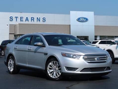 2015 Ford Taurus for sale at Stearns Ford in Burlington NC