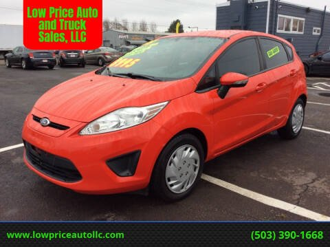2013 Ford Fiesta for sale at Low Price Auto and Truck Sales, LLC in Salem OR