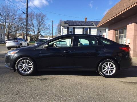 2015 Ford Focus for sale at Pat's Auto Sales, Inc. in West Springfield MA