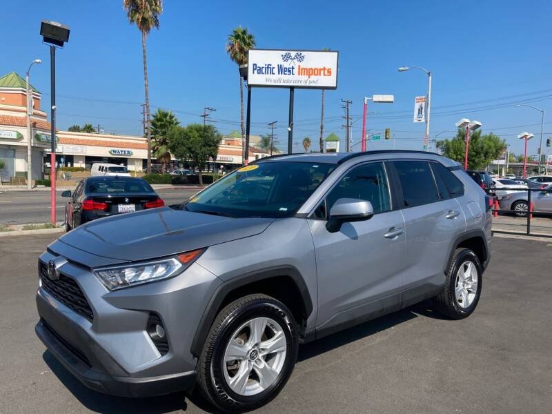 2020 Toyota RAV4 for sale at Pacific West Imports in Los Angeles CA
