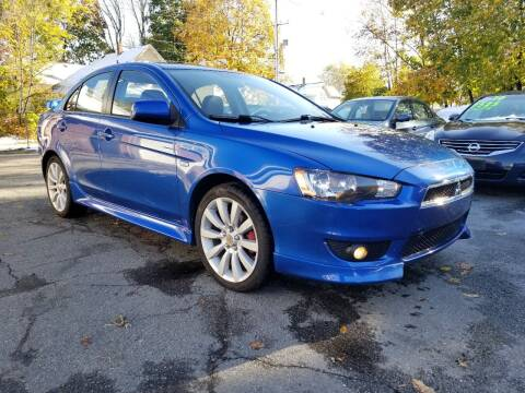 2011 Mitsubishi Lancer for sale at Emory Street Auto Sales and Service in Attleboro MA