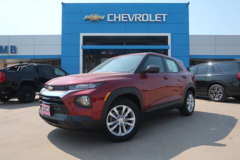 2021 Chevrolet TrailBlazer for sale at Lipscomb Auto Center in Bowie TX
