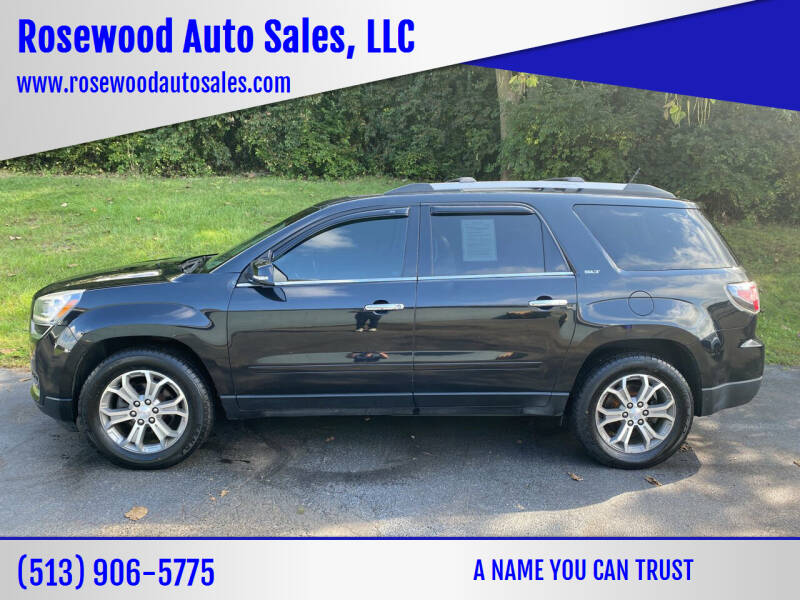 2015 GMC Acadia for sale at Rosewood Auto Sales, LLC in Hamilton OH