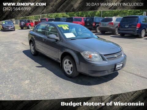 2008 Chevrolet Cobalt for sale at Budget Motors of Wisconsin in Racine WI
