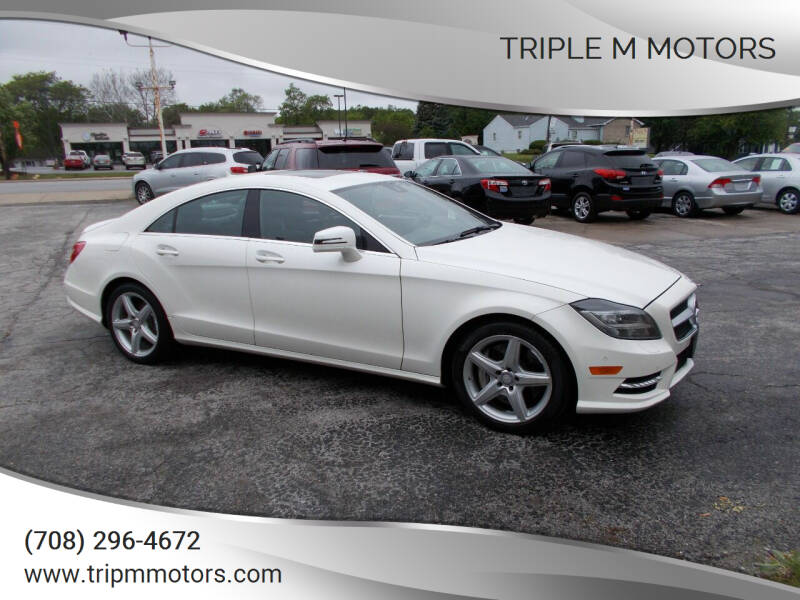 2014 Mercedes-Benz CLS for sale at Triple M Motors in Saint John IN