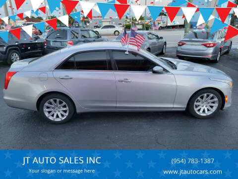 2014 Cadillac CTS for sale at JT AUTO SALES INC in Oakland Park FL