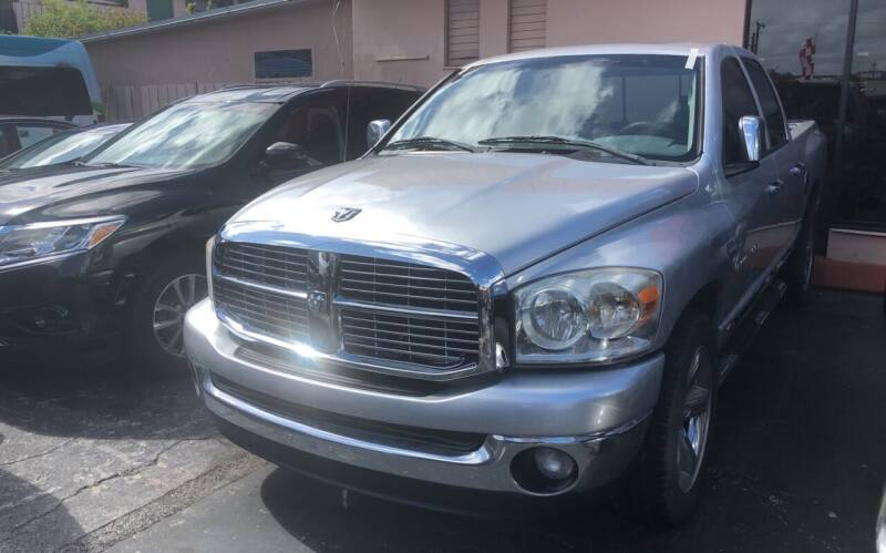 2007 Dodge Ram Pickup 1500 for sale at Global Motors in Hialeah FL