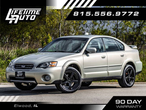 2005 Subaru Outback for sale at Lifetime Auto in Elwood IL