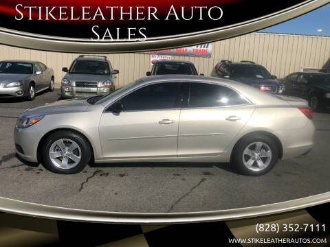 2013 Chevrolet Malibu for sale at Stikeleather Auto Sales in Taylorsville NC