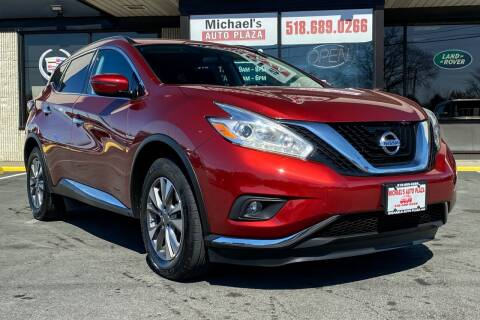 2017 Nissan Murano for sale at Michaels Auto Plaza in East Greenbush NY