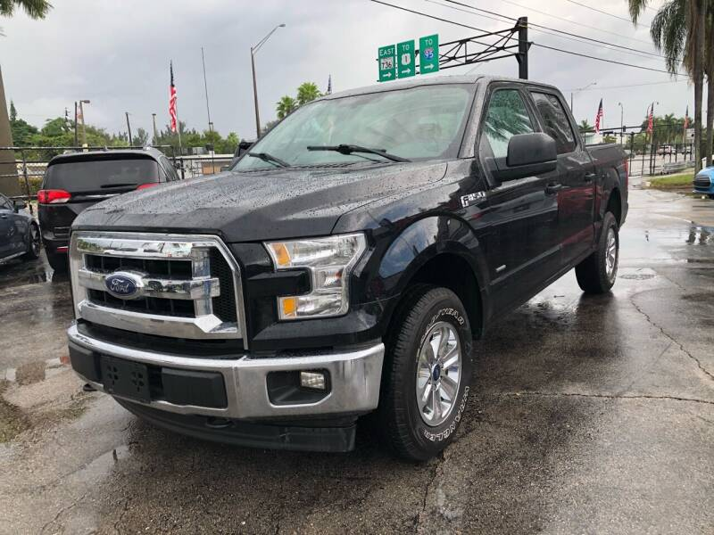 2017 Ford F-150 for sale at Gtr Motors in Fort Lauderdale FL