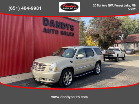 2011 Cadillac Escalade for sale at Dandy's Auto Sales in Forest Lake MN