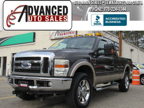 2008 Ford F-250 Super Duty for sale at Advanced Auto Sales in Tewksbury MA