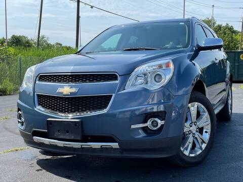 2011 Chevrolet Equinox for sale at MAGIC AUTO SALES in Little Ferry NJ