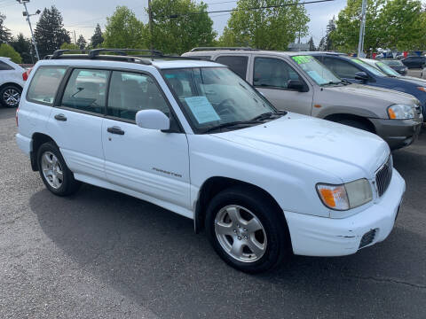 2001 Subaru Forester for sale at Pacific Point Auto Sales in Lakewood WA