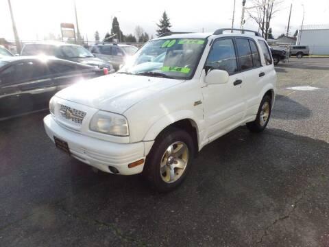2000 Suzuki Grand Vitara for sale at Gold Key Motors in Centralia WA