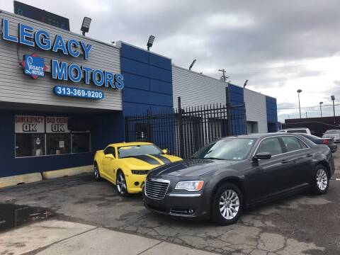 2013 Chrysler 300 for sale at Legacy Motors in Detroit MI