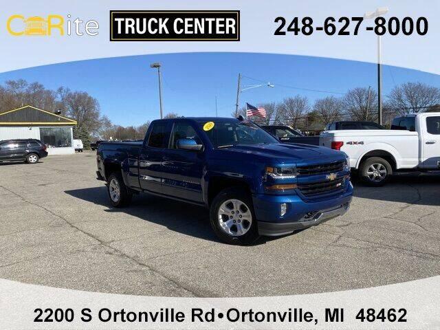 2019 Chevrolet Silverado 1500 LD for sale at Carite Truck Center in Ortonville MI