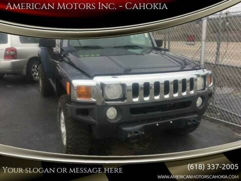 2007 HUMMER H3 for sale at American Motors Inc. - Cahokia in Cahokia IL