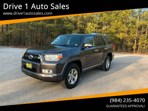 2013 Toyota 4Runner for sale at Drive 1 Auto Sales in Wake Forest NC