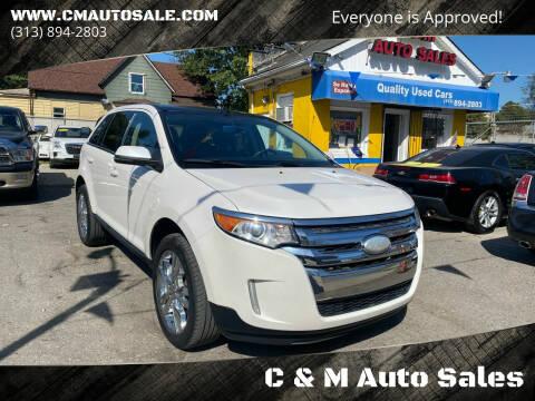 2013 Ford Edge for sale at C & M Auto Sales in Detroit MI