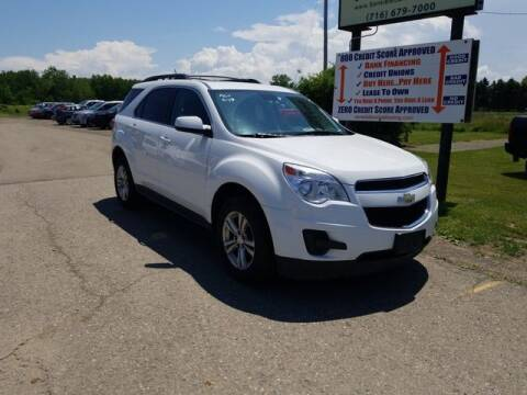 2015 Chevrolet Equinox for sale at Sensible Sales & Leasing in Fredonia NY