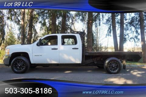 2013 Chevrolet Silverado 3500HD CC for sale at LOT 99 LLC in Milwaukie OR
